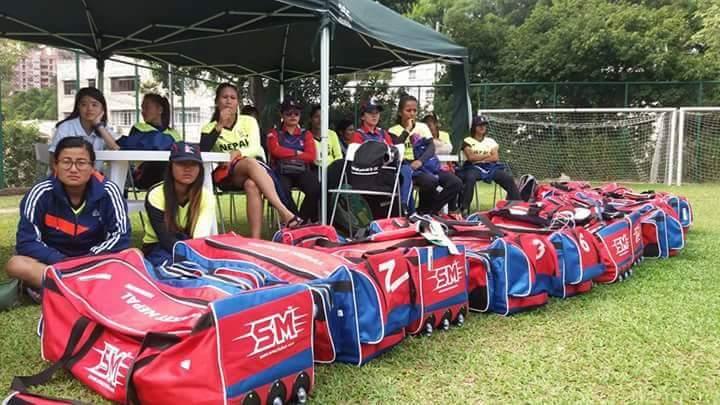 received_694624200699505 आईसीसी महिला विश्वकप छनोटमा नेपालले आज हङकङसँग प्रतिस्पर्धा गर्दै