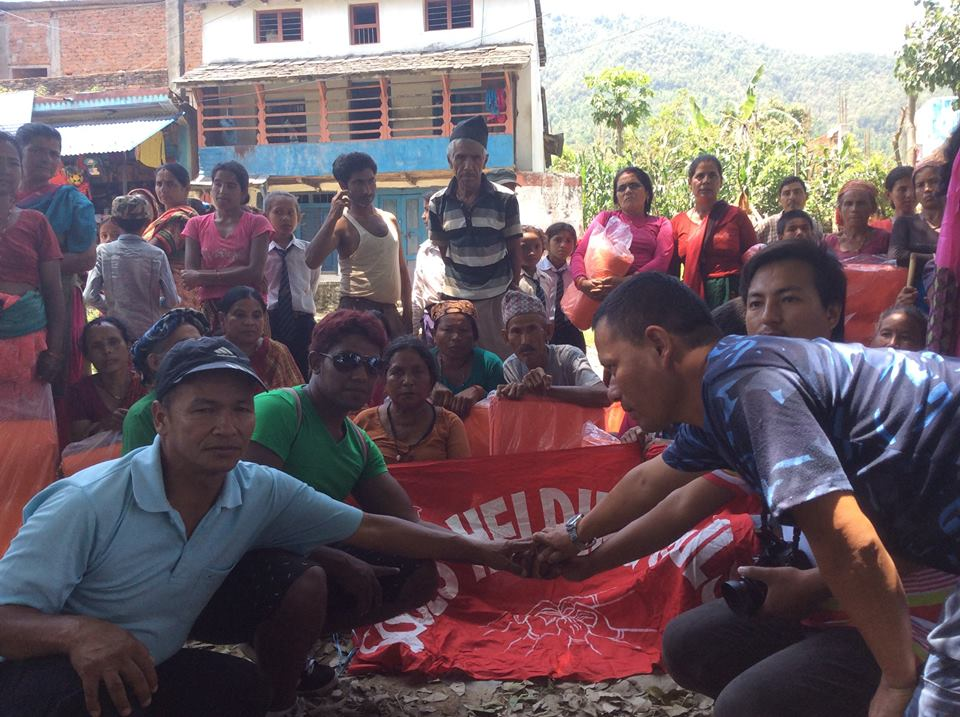 11406828_1594362947488587_2489188635671510485_n Helping Hands For Earthquake Victim