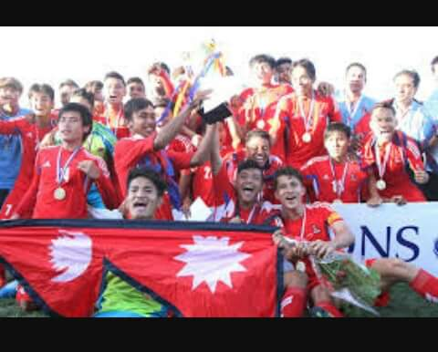 received_7146716820280901 Football Nepal vs. burnai (3-0)